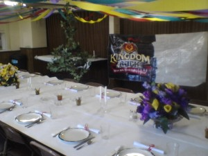 A preview of the King's Kitchen. To learn more or register for Kingdom Rock VBS click on the VBS tab at the top of the page.